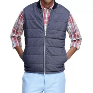 NEW - Brooks Brothers Quilted Vest